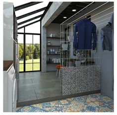 120 Best Laundry Room Decor Ideas and Design For 2019 Outdoor Laundry Rooms, Tiny Laundry Rooms, Laundry Room Bathroom, Laundry Room Storage, Basement Laundry, Laundry Closet, Small Laundry, Bathroom Small, Drying Room