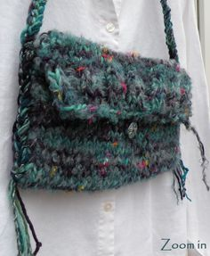 Dragonfly purse, large handbag Bohemian Bag, 12-inch wide SOFT mohair merino wool boho hippie teal blue purple medium lined i677 by LifesAnExpedition on Etsy https://www.etsy.com/listing/90069146/dragonfly-purse-large-handbag-bohemian
