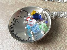 Domed Grandma Necklace: $20