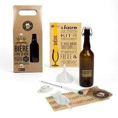 Le coffret de fabrication de bière