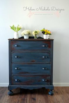 helennicholedesigns | dresser in artissimo {mms milk paint}                                                                                                                                                                                 More
