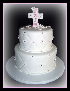 first communion cake ideas for girls - Google Search