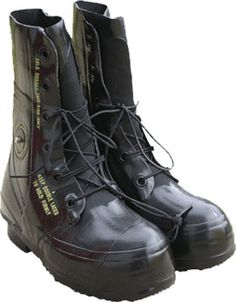 Black Extreme Cold Military Mickey Mouse Boots 41c612a4e