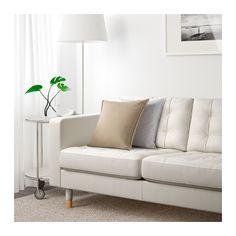 LANDSKRONA Sofá 3 plazas - Grann/Bomstad blanco, madera - IKEA