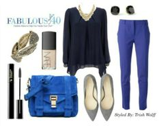 blue trend