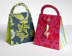 Paper Craft - Purse and Shoe by Carlos N. Molina - Paper Art, via Flickr