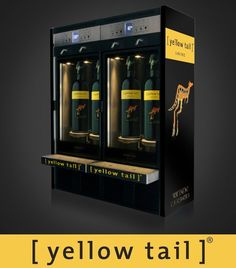 #wine #redwine #whitewine #rosé #winebar #tasting #winetasting #winedispenser #yellowtail