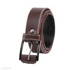 Belts  Artificial Leather Men's Belts Material: Artificial Leather  Size: 28 in  30 in  32 in  34 in  36 in  38 in Description: It Has 1 Piece Of Men's Belt Pattern: Solid Country of Origin: India Sizes Available: Free Size, 28, 30, 32, 34, 36, 38 *Proof of Safe Delivery! Click to know on Safety Standards of Delivery Partners- https://ltl.sh/y_nZrAV3  Catalog Rating: ★3.9 (5327)  Catalog Name: Free Gift Stylish Artificial Leather Men's Belts Vol 8 CatalogID_563237 C65-SC1222 Code: 821-3987909-