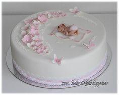 Baptism Torta Baby Shower, Baby Shower Cookies, Shower Cakes, Baby Girl Christening Cake, Baby Girl Cakes, Dog Cakes, Cupcake Cakes, Baby Cake Topper, Ballerina Cakes
