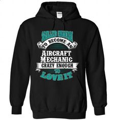 Aircraft Mechanic #tee #clothing. MORE INFO => https://www.sunfrog.com/LifeStyle/Aircraft-Mechanic-1591-Black-Hoodie.html?60505