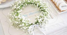 お花と針金だけで簡単に作れる!自分だけのかわいい花冠の作り方<br>|DIY Baby Shower by ARCH DAYS編集部