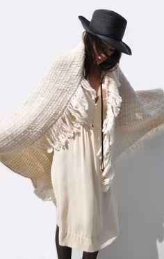 Anaïse / Lauren Manoogian Fringe Blanket