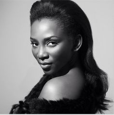 Beautiful Nollywood actress Genevieve Nnaji, just released this gorgeous picture on Instagram. to Linda Ikeji's Blog