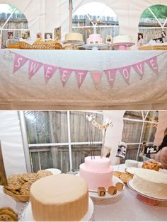 I love everything about this wedding. A dessert bar with everything dedicated to loved ones that passed away? How amazing!