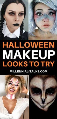 Halloween Makeup Looks to Try | Millennial Talks