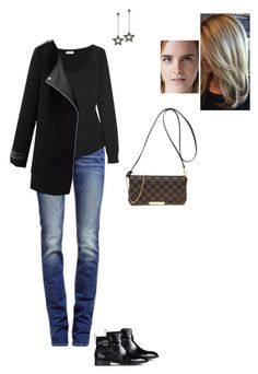 """""""Untitled #8635"""" by gracebeckett on Polyvore featuring True Religion, Splendid, Thomas Sabo, Louis Vuitton and H&M"""