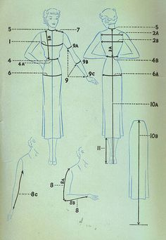 More vintage pattern sewing tips/info