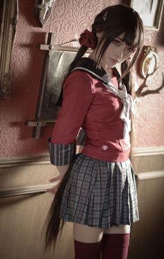 Maki Harukawa cosplay von @ amm_mi315