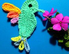 Crochet a Lovely Hummingbird | Guidecentral, free pattern