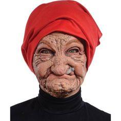 Old Nana Latex Mask Adult Halloween Accessory