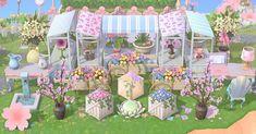 Animal Crossing Guide, Animal Crossing Pocket Camp, Pink Island, Motif Acnl, Magenta Flowers, Ac New Leaf, Motifs Animal, Animal Games, Sea Creatures