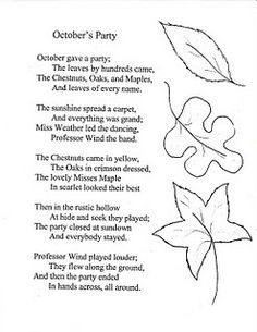 My favorite childhood poem :) Halloween Poems For Kids, October Poem, 5th Grade Ela, Grade 1, Childhood Poem, Poems About School, School Tool, School Stuff, Student Teaching