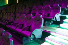 Theater at IMG World of Adventure in Dubai (UAE), one of the largest indoor theme parks in the world. Hero Time, Dubai Uae, Parks, Theater, Indoor, Marvel, Adventure, World, Interior