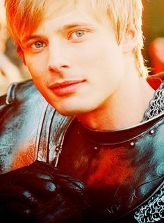Bradley James as Arthur #Merlin