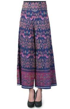 Kulot Batik, Batik Kebaya, Batik Dress, Batik Fashion, Ethnic Fashion, Hijab Fashion, Thai Traditional Dress, Traditional Outfits, Model Kebaya
