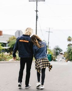 A house divided. Blogger The Style Riot and her fiance are geared up to support the L.A. Rams and Chicago Bears in style, even if they won't be cheering for the same team.