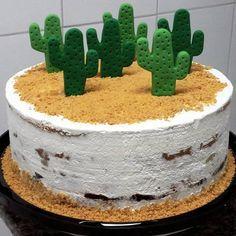 Bolo Dino, Western Birthday Cakes, Mexican Fiesta Birthday Party, Mexico Party, Mexican Party Decorations, Cactus Cake, Taco Party, Gorgeous Cakes, Drip Cakes
