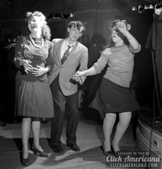 Hep cats dance the Lindy Hop & do the Jitterbug jive (1938-1943)  Read more at http://clickamericana.com/eras/1930s/hep-cats-lindy-hop-jitterbug-jive-1938-1943 | Click Americana
