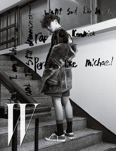 iKON Bobby for W Korea Magazine © W KOREA