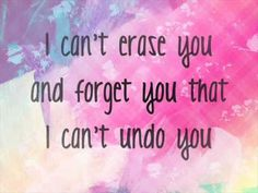 Undone - Haley Reinhart ( Lyrics) I know it's not dub step or some how super cool.  It's just cliche and real.
