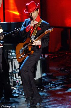 Prince during The 19th Annual Rock and Roll Hall of Fame Induction Ceremony