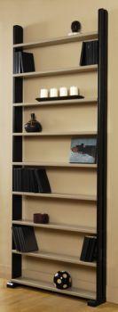 Espace loggia lit mezzanine etagere livre poche meuble contemporain design gain de place