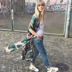 "612 Likes, 21 Comments - Jeanette Friis Madsen (@_jeanettemadsen_) on Instagram: ""This kimono #hmstudioss15#kimono#and#powdylips"""