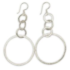 Earrings Sterling Silver Handmade Fashion Jewelry from India 3 Inches: Jewelry: Amazon.com