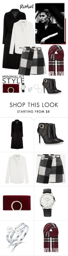 """""""Minimalist Style"""" by isidora ❤ liked on Polyvore featuring Weekend Max Mara, Stella Luna, Vince, Jessica McClintock, Links of London and Burberry"""