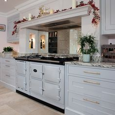 View the AGA Dual Control range cooker profiting from reduced running and servicing costs. Kitchen Mantle, Aga Kitchen, Green Kitchen, Kitchen Tiles, Kitchen Decor, Kitchen Design, Kitchen Island, Aga Cooker, Best Appliances