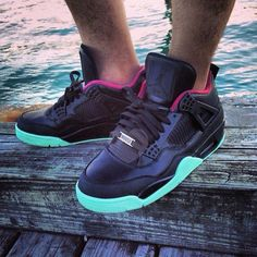 Air Jordan 4 Customs by Jevel Glosshouse | Yeezy Blink Inspired