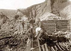 washing the gold, Alaska 1916