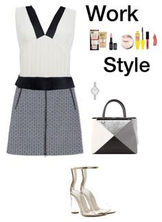 """Work Style (3)"" by irisazlou on Polyvore featuring mode, Tory Burch, Chanel, Cape Robbin, Fendi, Garnier, NYX, Maybelline et Kate Spade"