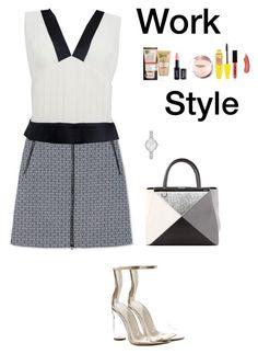"""Work Style (3)"" by irisazlou on Polyvore featuring mode, Tory Burch, Chanel, Cape Robbin, Fendi, Garnier, NYX, Maybelline et Kate Spade"