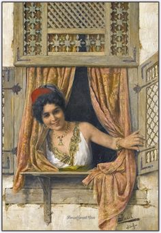 Woman At A Window by Isaac Israels Handmade oil painting reproduction on canvas for sale,We can offer Framed art,Wall Art,Gallery Wrap and Stretched Canvas,Choose from multiple sizes and frames at discount price. Arabian Art, Academic Art, European Paintings, Oil Painting Reproductions, Woman Painting, Female Art, Art History, Watercolor Art, Modern Art