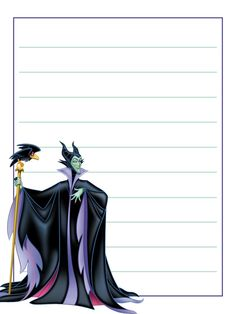 """Maleficent - Project Life Journal Card - Scrapbooking ~~~~~~~~~ Size: 3x4"""" @ 300 dpi. This card is **Personal use only - NOT for sale/resale** Logo/clipart belongs to Disney. *** Click through to photobucket for more versions of this card ***"""