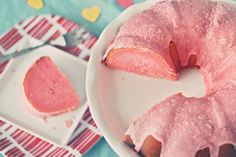 Pink lemonade cake from scratch