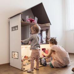 Domácí domeček pro panenky pro vaši malou princeznu
