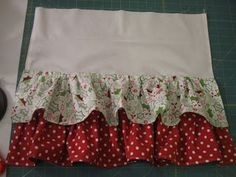 how to sew multiple rows of ruffles