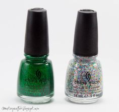 China Glaze Running in Circles, It's a Trap-eze!